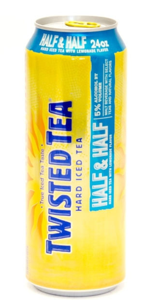 Twisted Tea Hard Iced Tea Half&Half 5% Alc/Vol 24oz